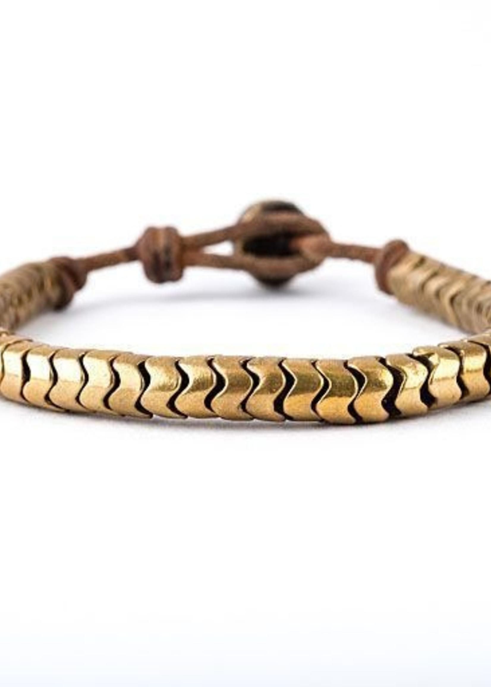Mina Danielle African Gold Snake Vertibre