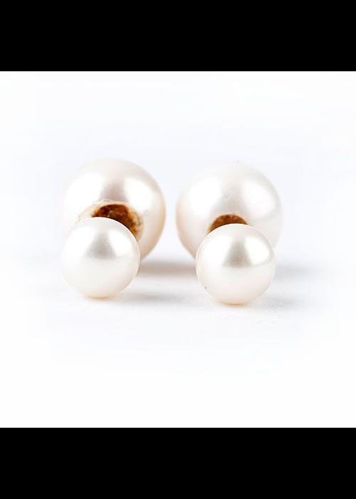 Mina Danielle Dior Double Pearl Earring