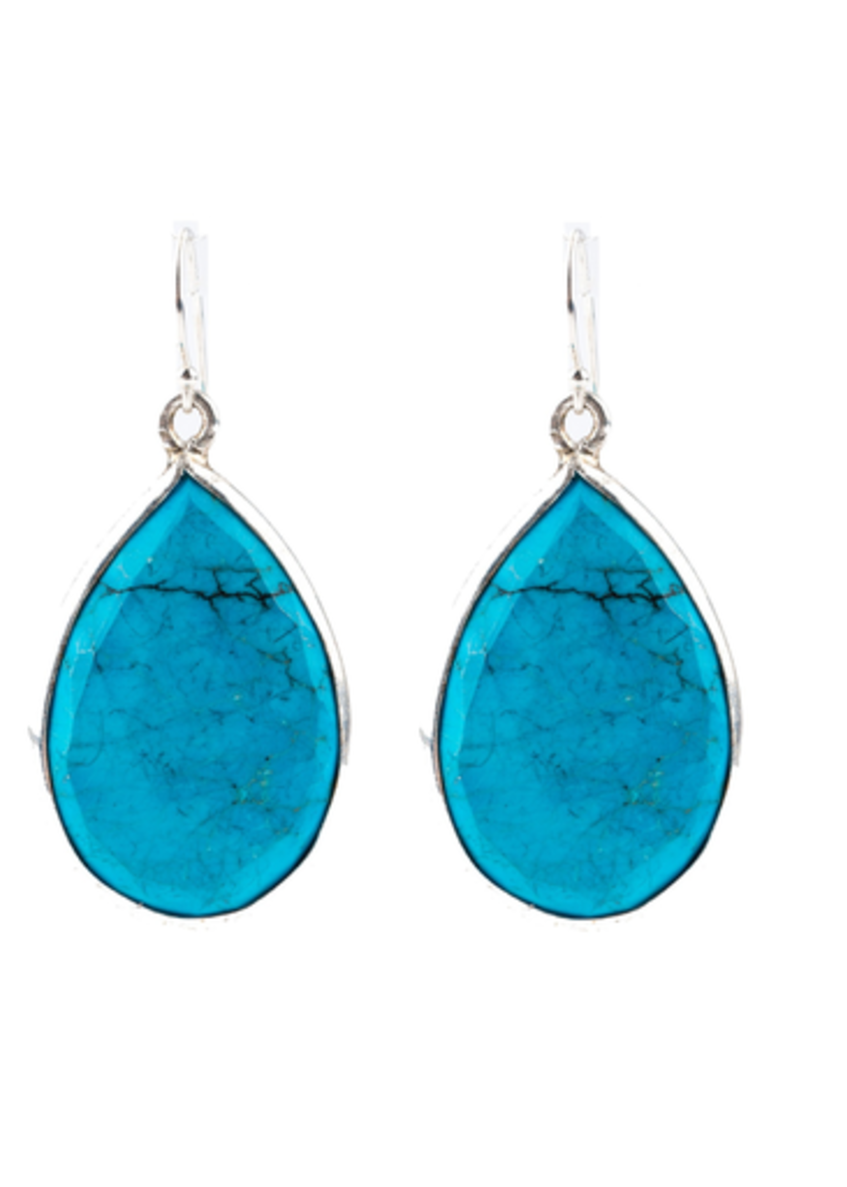 Mina Danielle Turquoise Teardrop earrings
