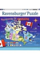 Ravensburger Carte du canada 100 pcs
