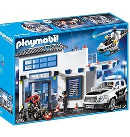 Playmobil 9372 Poste de police et véhicules