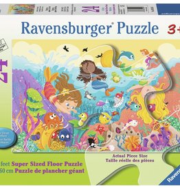 Ravensburger Le barbotage des sirènes 24 pièces