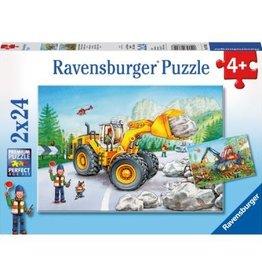 Ravensburger Travaux de tracteurs 2 x 24 mcx*