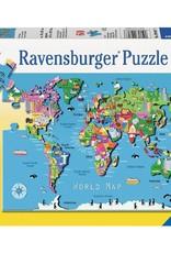 Ravensburger Carte du monde 60 pcs