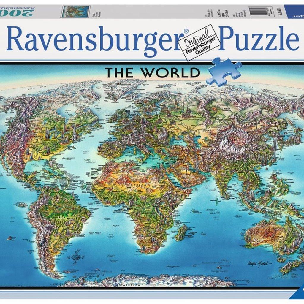Ravensburger Carte du Monde 2000 pcs
