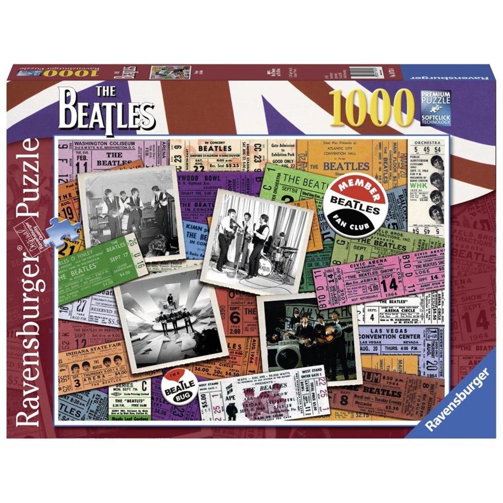 Ravensburger Des billets The Beatles 1000 pcs