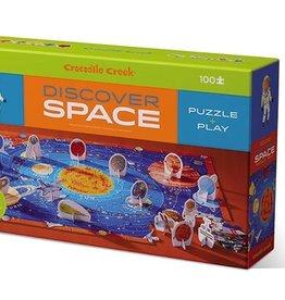 Crocodile Creek Puzzle découverte 100 pièces espace