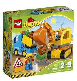 Lego 10812 - Le camion et la pelleteuse