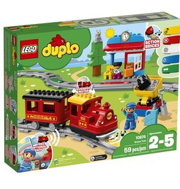 Lego 10874 - Le train vapeur