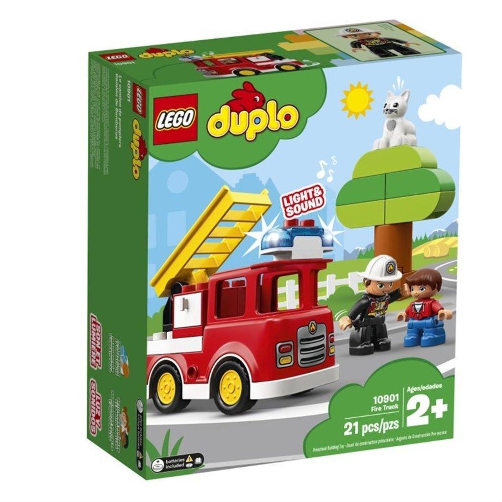 Calendrier Avent Duplo.Lego 10901 Le Camion De Pompiers