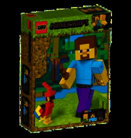 Lego 21148 - BigFig Steve et son perroquet