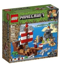 Lego 21152 - L'aventure du bateau pirate
