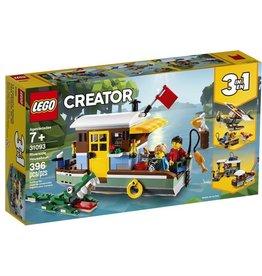 Lego 31093 - La péniche au bord du fleuve