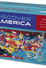 Crocodile Creek Casse-tête découvre l'Amérique
