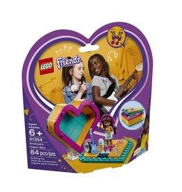 Lego Friends Lego Friends - 41354 - La boîte cœur d'Andréa