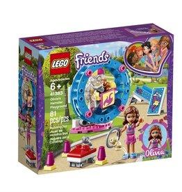 Lego Friends 41383 - l'aire de jeu du hamster d'Olivia