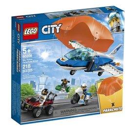 Lego City 60208 - L'arrestation en parachute