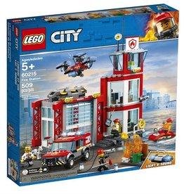 Lego City 60215 - La caserne de pompiers