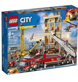 Lego 60216 - Les pompiers du centre-ville