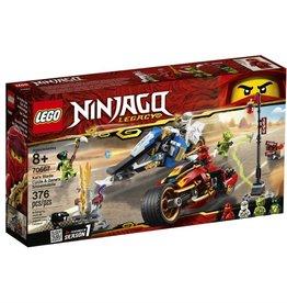 Lego 70667 - La moto Kai et le scooter