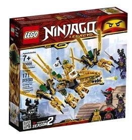 Lego 70666 - Le dragon d'or