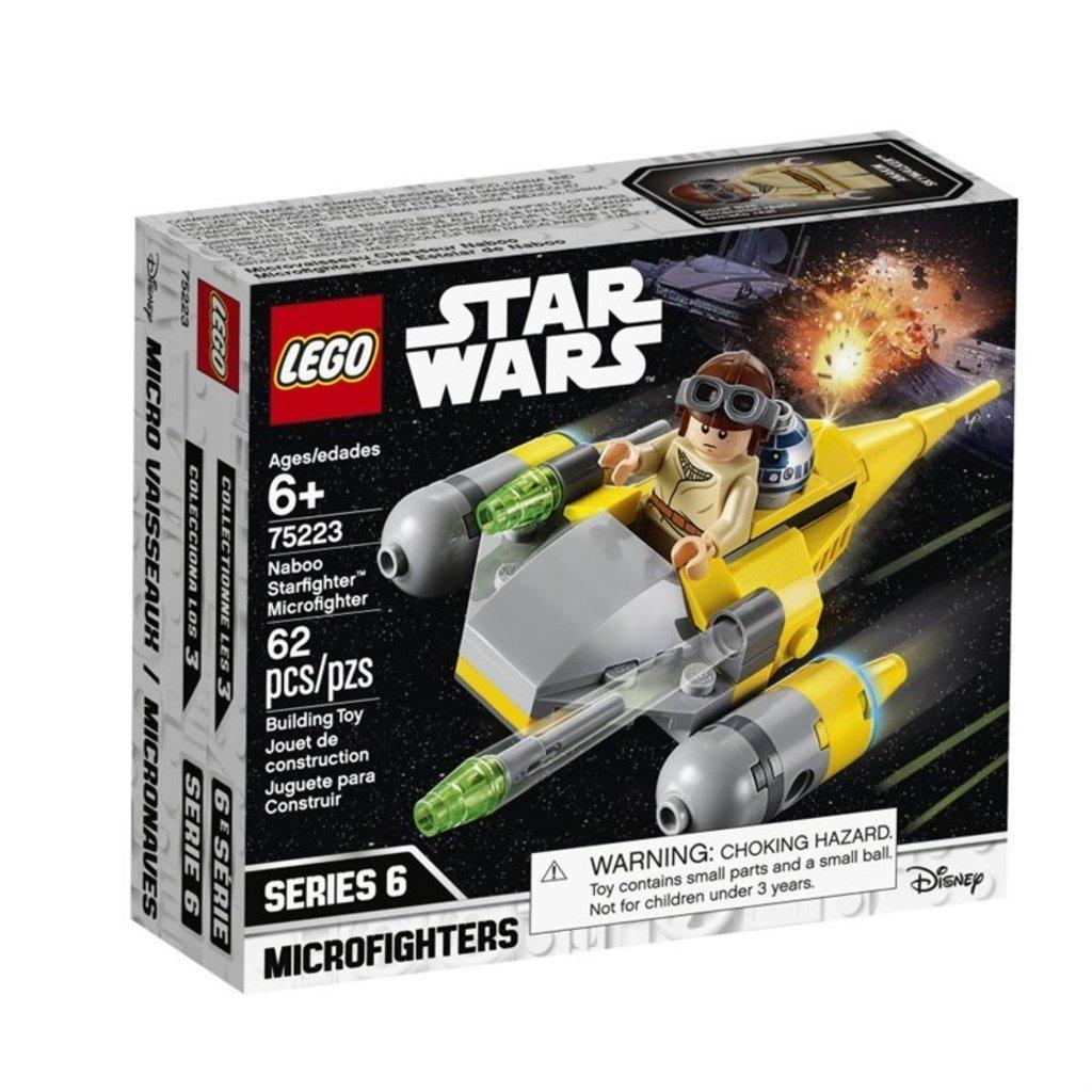 Microvaisseau Star Naboo Wars Strafighter 75223 Lego vwmNOP8y0n