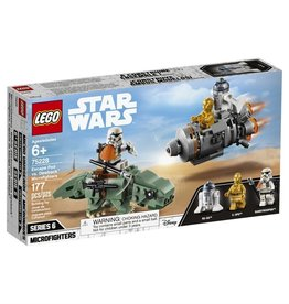 Lego Star Wars 75228 - Capsule de sauvetage contre Microfighter Dewback