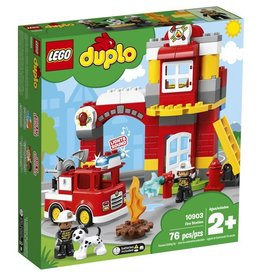 Lego Duplo 10903 - La caserne de pompiers