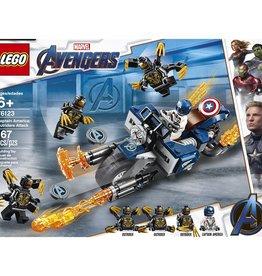 Lego 76123 - Captain America et l'attaque des Outriders