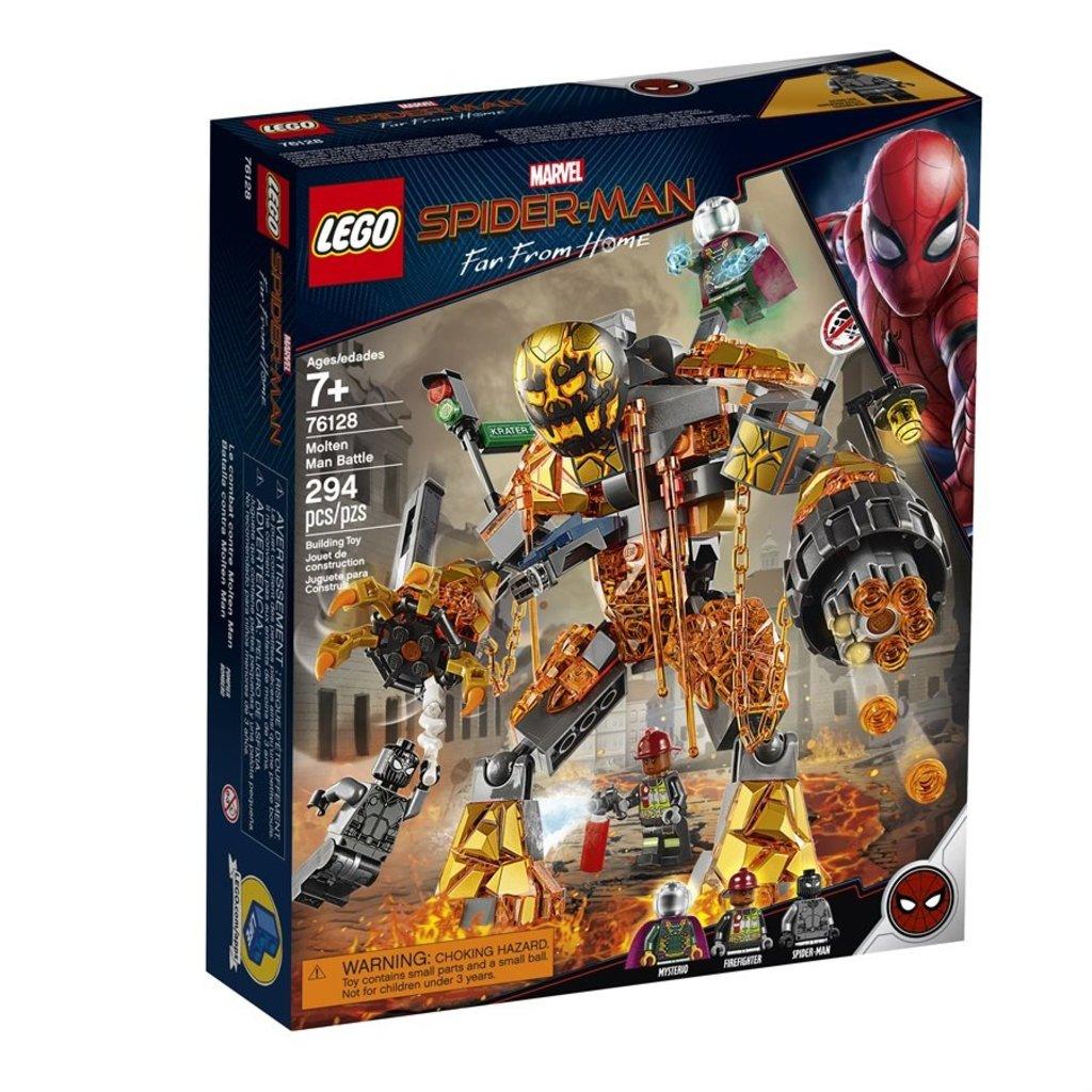 Lego Super Heros 76128 Spider Man Et La Bataille De L Homme De