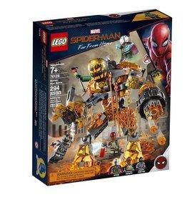 Lego 76128 - Spider-Man et la bataille de l'Homme de métal