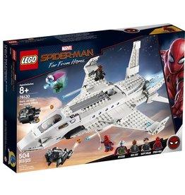 Lego Spider-man 76130 - L'attaque de Spider-man avec le jet de Stark