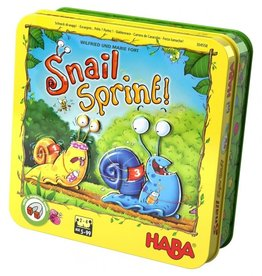 Haba Haba Snail sprint,Escargot...Prets?Partez!