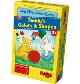Haba Teddy' color&shapes,Les couleur et les formes avec petit ourson