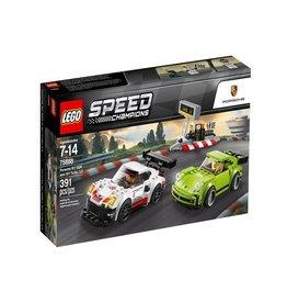 Lego Speed Champions 75888 - Porsche 911 RSR et 911 Turbo 3.0