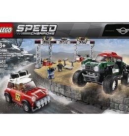 Lego Speed Champions Lego- speed champions 75894- Mini Cooper S Rally 1967 et Mini John Cooper Works Buggy 2018