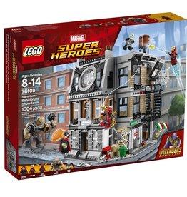 Lego 76108 - La bataille pour la protection du Saint des Saints