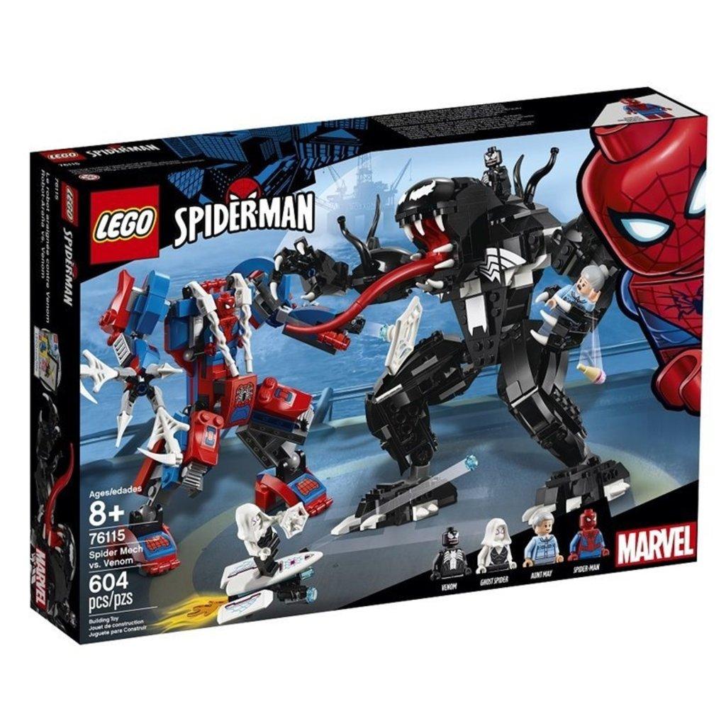 Lego Spider Man 76115 Le Robot De Spider Man Contre Venom Ojeux