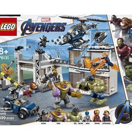 Lego Marvel Super Heroes 76131 - L'attaque du QG des Avengers