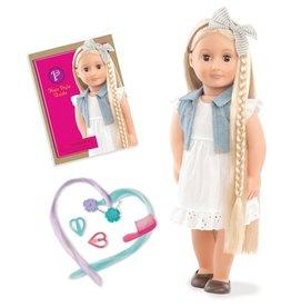 Our Generation Poupée Phoebe cheveux