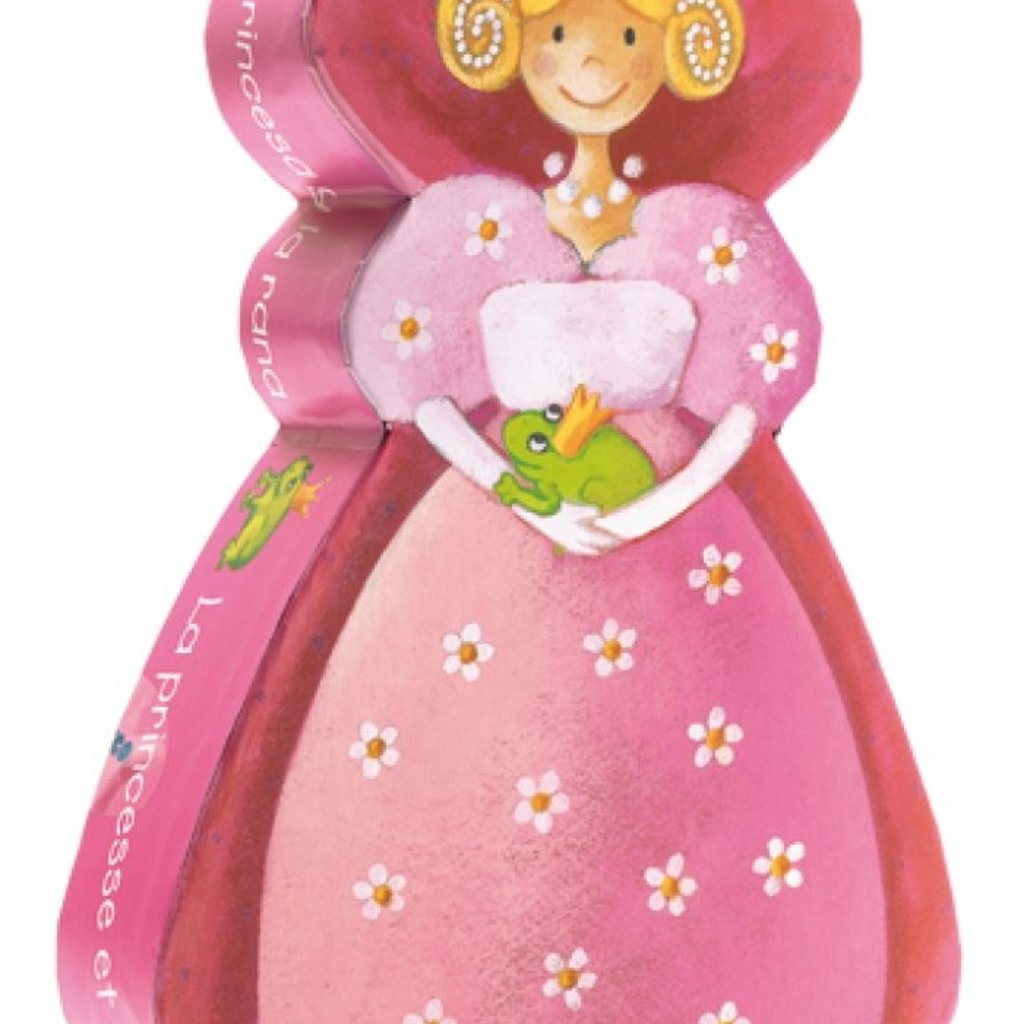 Djeco Puzzle silhouette Princesse