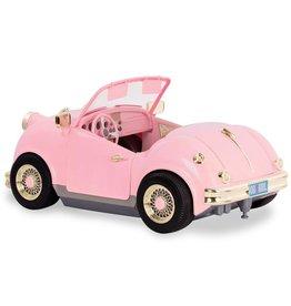 Our Generation Voiture rétro rose pour poupée