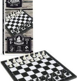 Bojeux Jeu d'échecs et dames magnétique