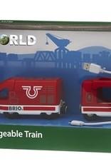 Brio Train de voyageur rechargeable
