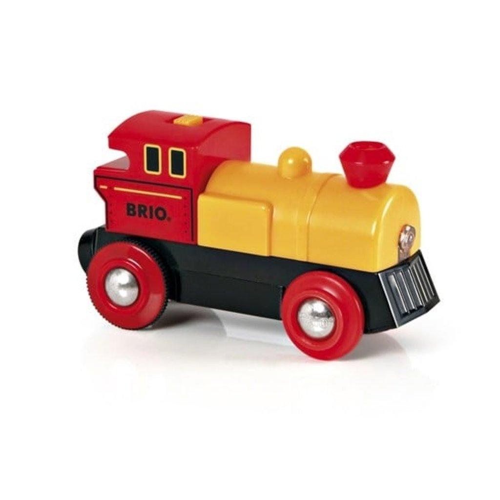 Brio Locomotive à pile bidirectionnelle jaune