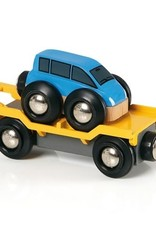 Brio Wagon transport de voiture avec rampe