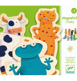 Djeco Magnetic's Crazy Animaux