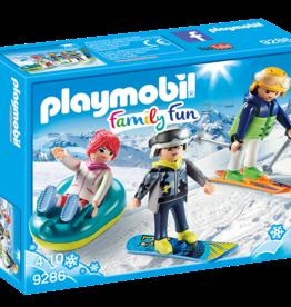 Playmobil 9286 Vacanciers aux sports d'hiver