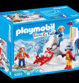 Playmobil 9283 Enfants avec boules de neige