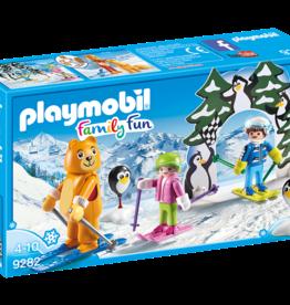 Playmobil 9282 Moniteur de ski avec enfants